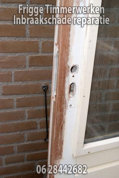 inbraakschade reparatie deur